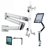 "New iPad Mini/GPS/Tablet PC 3.5-14"" Metal Multi-Functional Bracket Mount Stand Car/Bed/Table Desk Foldable Holder"