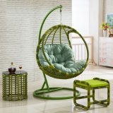 Outdoor Furniture Patio Swing Wicker / Rattan Swing /Outdoor Rattan Adult Hanging Egg Swing Chair (D005)