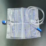 Medical Urine Drainage Bag with T Value