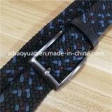 Customize blue Starry Point Elastic Braided Belt