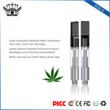 Bud Atomizer 0.5ml Disposable Dual Coils Hemp Oil Cartridge Cbd Vape Pen Vape Mods