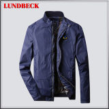 Fashion Simple Jacket for Men in Polyester Material