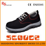Cheap Suede Leather Upper Rubber Sole Safety Shoes Poland RS377b