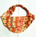 Wide Printed Colorful Bandanas Hair Accessories