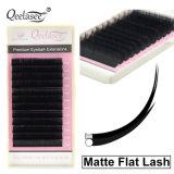 Matte Flat Eyelashes Ellipse Flat Lashes Faux Mink Strip Lashes Eyelash Extension
