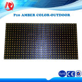 High Brightness 16X32 DIP P10 Outdoor Amber LED Display Module