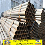 Atsm A53 BS 1387 Welded Black Round Steel Pipe
