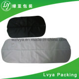 Promotional Dustproof Zipper Custom Black Plastic PEVA Non Woven Suit Cover Travel Bag Garment Bag