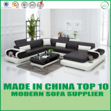 Home Modern Sectional Custom Leather Sofa for Living Room