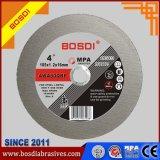 Manufacture Supply Flat Cutting Wheel (105X1.2X16) MPa Certificate, Cutting Disc Cut The Metal, Inox, Steel Sheet, Bar, Stainless Steel, Wire Cuttingdisc