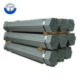 BS1387 ASTM A53 Hot Dipped Galvanized Steel Pipe with Threaded End and Plastic Caps Price
