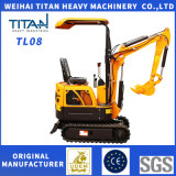 High Quality Cheap Mini Excavator Tl08 for Sale