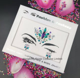 2018 Newest Sticker Face Jewels and Eye Sticker Temporary Sex Body Tattoo Sticker (S032)