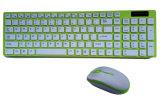 Ultrathin Slim Wireless Popular Colorful Computer Keyboard