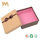Luxury Custimized Two Pieces Clothing Paper Packing Box with Ribbon