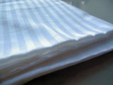 Cotton Fabric Satin Striped 36X36 215tc for Hotel Bed Linen
