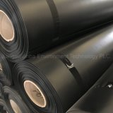 Thickness 0.50-2.00mm Anti-Seepage Impermeable Impervious Waterproof Double-Sided Smooth HDPE Geomembrane for Water Conveyance Canal and Reservoir