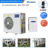 Europe Cold-25c Winter Radiator 55c Hot Water Heat 100~550sq Meter Room 12kw/19kw/35kw Evi Heat Pump Floor Mounted Water Heater