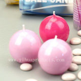 Lovely Craft Ball Candle for Wedding Festival