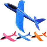 Hand Launch Throwing Inertia Airplane Toys Flying Outdoor Foam Fun Sports Summer Activity Kids Children Trick Games Aircraft Toy Sky Glider Fighter Props