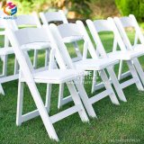 China Hot Sale White Resin Folding Chair for Wedding Wholesale Hly-RS029