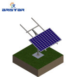 Commercial Customized Fix Tilt Racking Floor System Photovoltaic Stand Solar Ground Mounting Single Pole