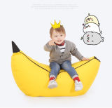 The Banana Shape Bean Bag Chair for Children and Kids