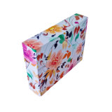 Wholesale Customized Flower Appearance Shoes Shopping Outer Packing Carton Box
