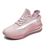 Crystal Sole OEM Fashion Stylish Comfort Cheap White Ladies Women's Sports Shoes