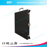 P4.81mm SMD2727 RGB Waterproof LED Video Sign Screen Rental with 500 X 500mm Cabinet