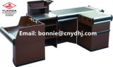 Checkout Cash Metal Counter for Supermarket