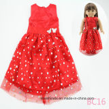 Beautiful Red Dress 18 Inch Girl Doll Clothes