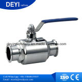 Sanitary Stainless Steel Tri Clamp Straight Ball Valve