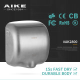 AK2800 Electronic Appliance Xlerator Style Wall Mounted Touchless Stainless Steel Hand Dryer