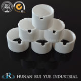 Zirconia Ceramic Eyelet Tube Parts with Good Inner Polishing