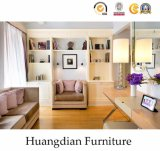 Customized Simple Design Hotel Bedroom Wooden Furniture Set (HD001)