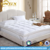 Wholesale White Goose Duck Down Feather Matterss Topper, King Size Mattress