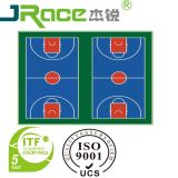 Multi-Use Outdoor and Indoor Plastic Sports Flooring Surface
