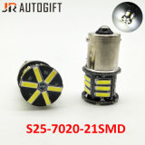 Auto LED Bulbs S25 Ba15s 1156 1157 21SMD 7014 Back-up Tail LED Bulbs