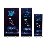 Cheap 80X200/60X160cm Size Aluminum Adjustable Indoor and Outdoor Advertising Roll up Banner Stand