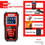 China Konnwei Factory Car Fault Code Obdii Diagnostic Scanner for All 12V Cars