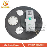 Factory Wholesale Tank Trucker Aluminum Manhole Cover