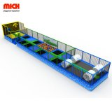 Wholesale Attractive Long Amusement Jumping Trampoline for Sale
