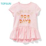Baby Girl Cute Short-Sleeved T-Shirt Toddler Dance Skirt Summer Dress