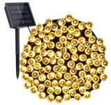 Christmas Lights Solar Powered String Lights 100/200/300/500/1000 LED Fairy Lights 8 Modes Lighting for Outdoor Patio Lawn Landscape Garden Home Wedding