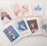 Best Wishes Folded Greeting Cards Printing