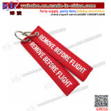 Custom Printed Business Silicon Keyring Key Ring Promotional Keychain Promotion Items (G8016)