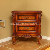 French Style Brown Bedroom Night Stand Furniture, Night Stand, Bed Side Table