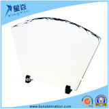 Fan-Shape Sublimation Rock Slate with Stand