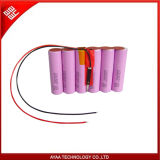 Rechargeable Li-ion Battery Pack 3.7V/15.6ah with PCM 5A